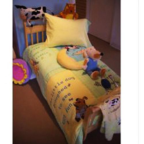 Crayola - Toddler Bedding 4-Piece Set, Hey Diddle Diddle