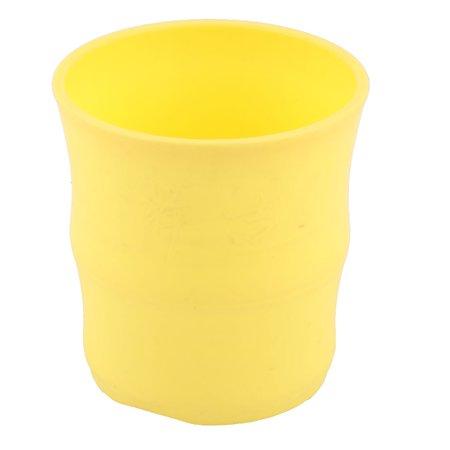 Apartment Plastic Plant Bamboo Succulent Holder Flower Pot Container -