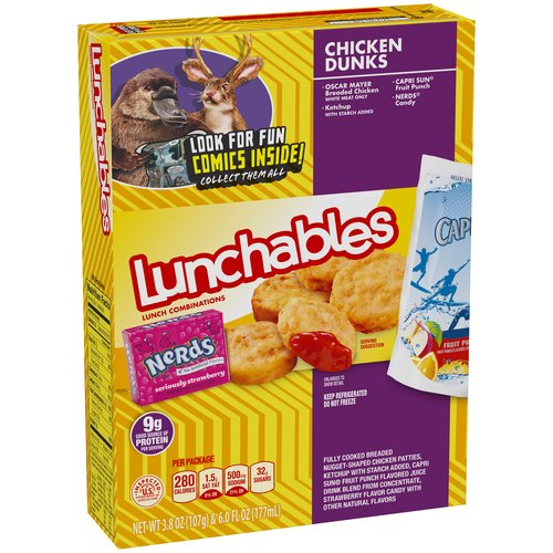 Lunchables Chicken Dunks Lunch Combination, 3.8 oz