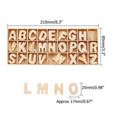 Wooden English Spelling Building Blocks For Kids English Develop Children Gift - image 2 de 8