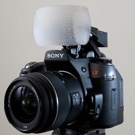 Gary Fong The Puffer, Pop-up Flash Diffuser for Sony & Konica/Minota Cameras