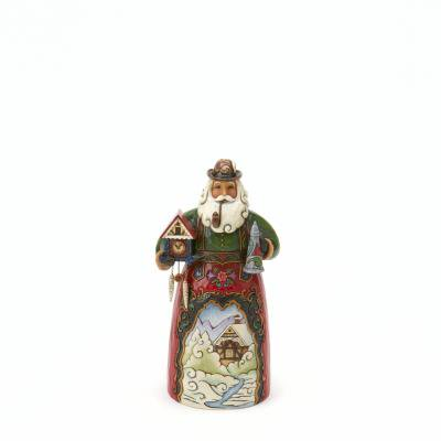 Enesco Figurine, German Santa