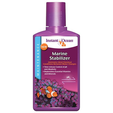 Instant Ocean Marine Stabilizer 250 mL, For Ideal Aquarium (Instant Ocean Bio Spira For Saltwater Tanks)