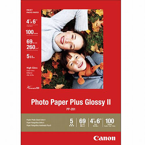 "Canon 100-sheet 4"" x 6"" Photo Paper"