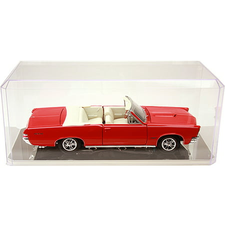 Clear Acrylic Display Case (With Mirror) For 1:18 Scale Cars - 13
