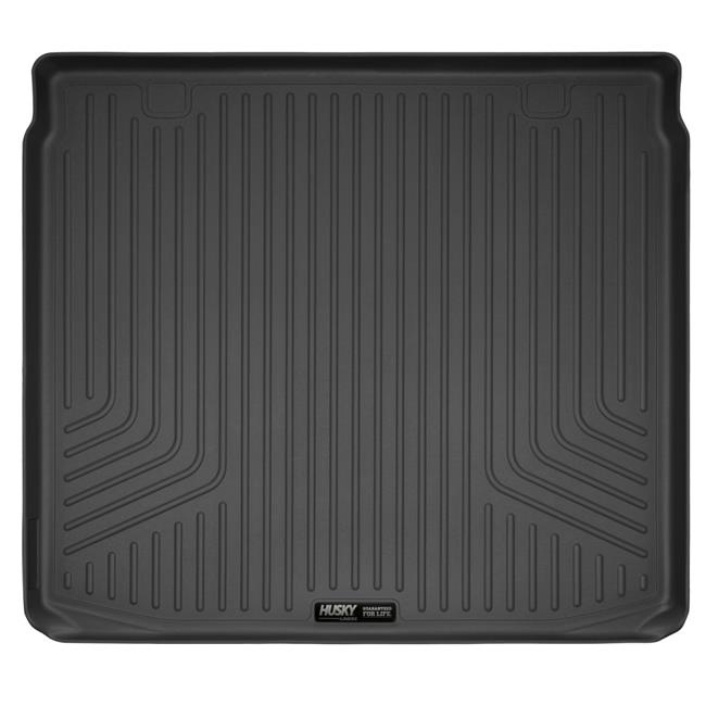 2nd Seat Floor Liner - Full Coverage, Grey - 2015-2018 Ford F-150 SuperCrew Cab
