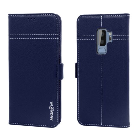 samsung galaxy s9 geniune leather wallet case