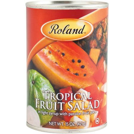 (4 Pack) Roland Tropical Fruit Salad, 15 Oz