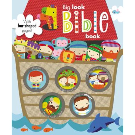 Big Look Bible Book: Make Believe Ideas (Board Book) - Board Ideas