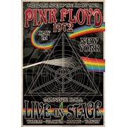 Pink Floyd 1972 Carnegie Hall Poster - 24x36