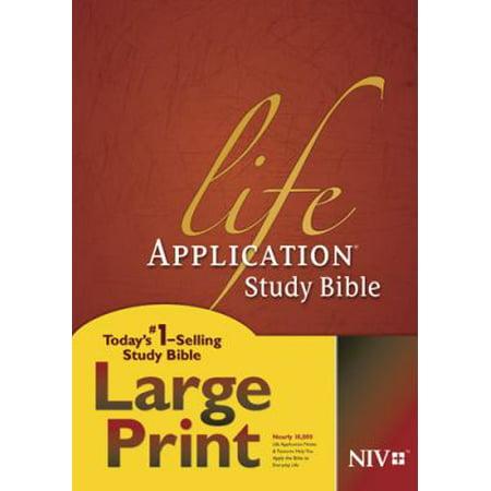Life Application Study Bible  New International Version