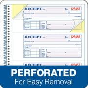adams 2 part rent receipt book 2 34 x 4 3