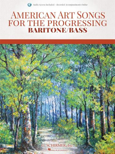 Hal Leonard American Art Songs for the Progressing Singer Baritone Bass (With Online... by
