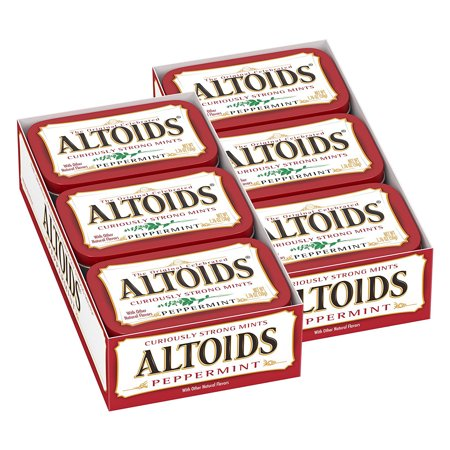 Altoids Breath Mints, Classic Peppermint, 1.76 Oz Tin