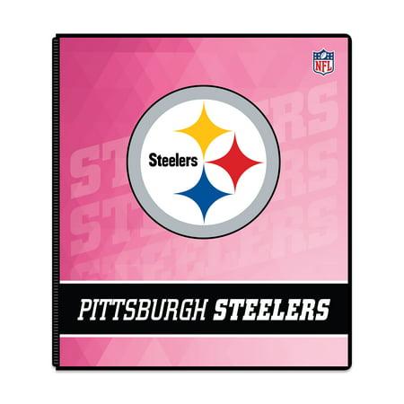1ea2823c Binder Pink Pittsburgh Steelers - Walmart.com