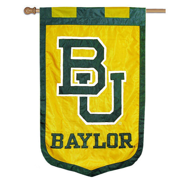 "Baylor Bears 35"" x 52"" NCAA House Flag"
