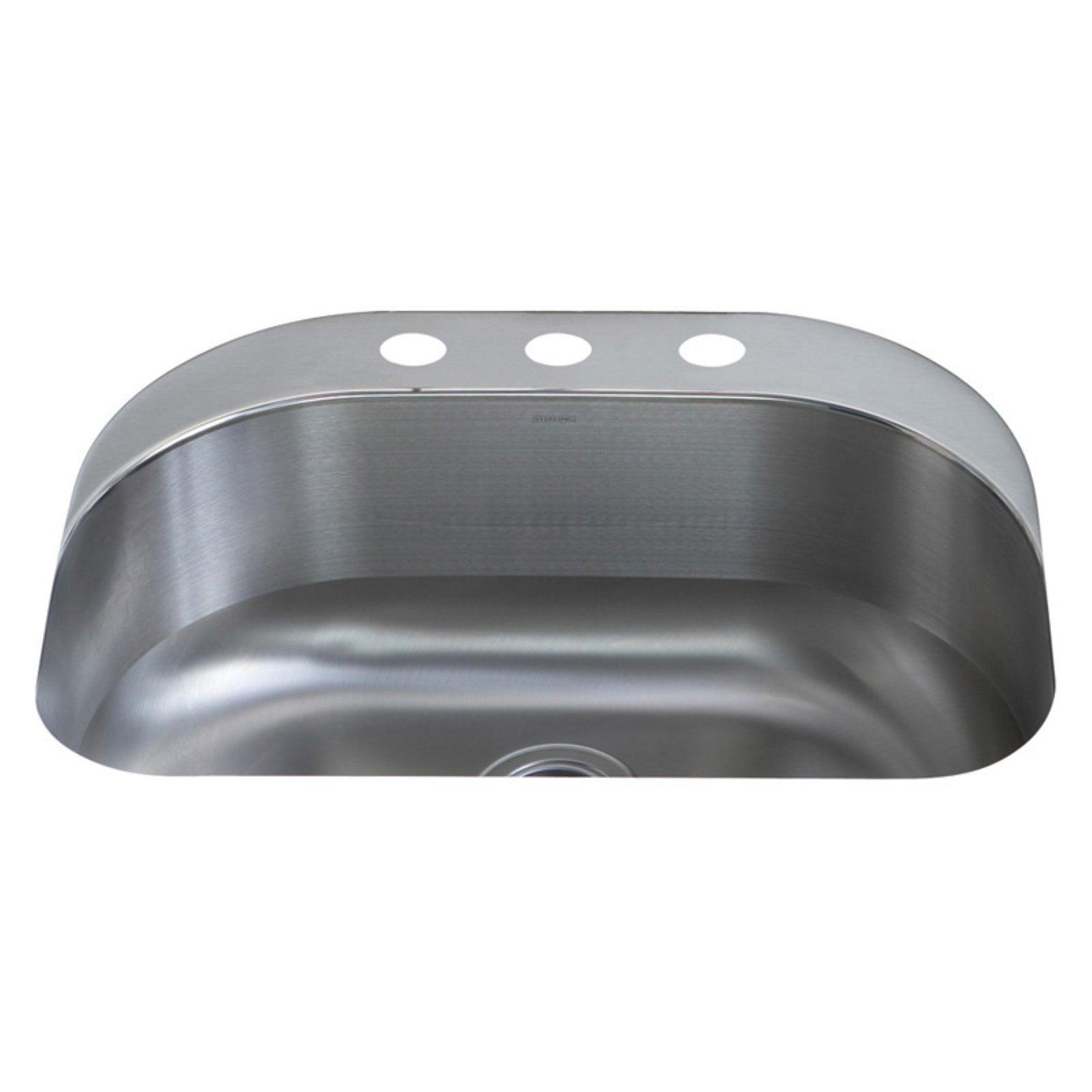 Sterling by Kohler Cin.® 11722-3 Single Basin Undermount Kitchen Sink