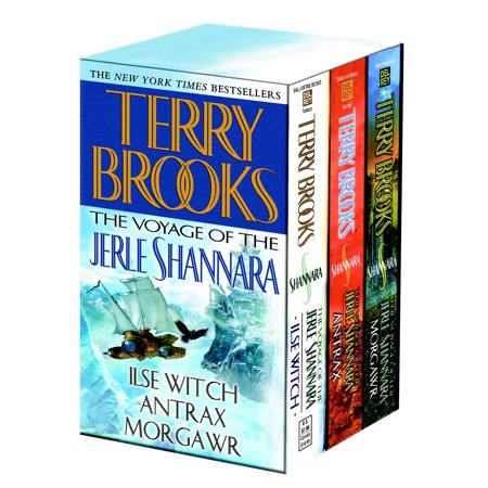 Voyage of the Jerle Shannara 3c box set MM