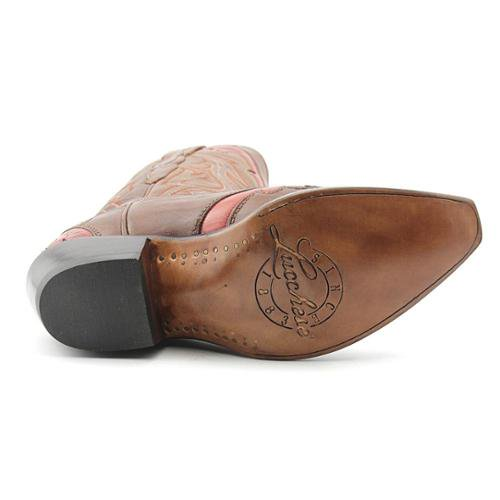 Lucchese Loretta Women Square Toe Leather Western Boot Walmart