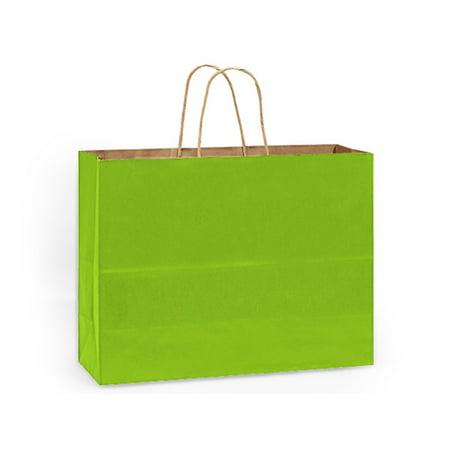 Vogue Apple Green Recycled Kraft 25 Pk 16x6x13