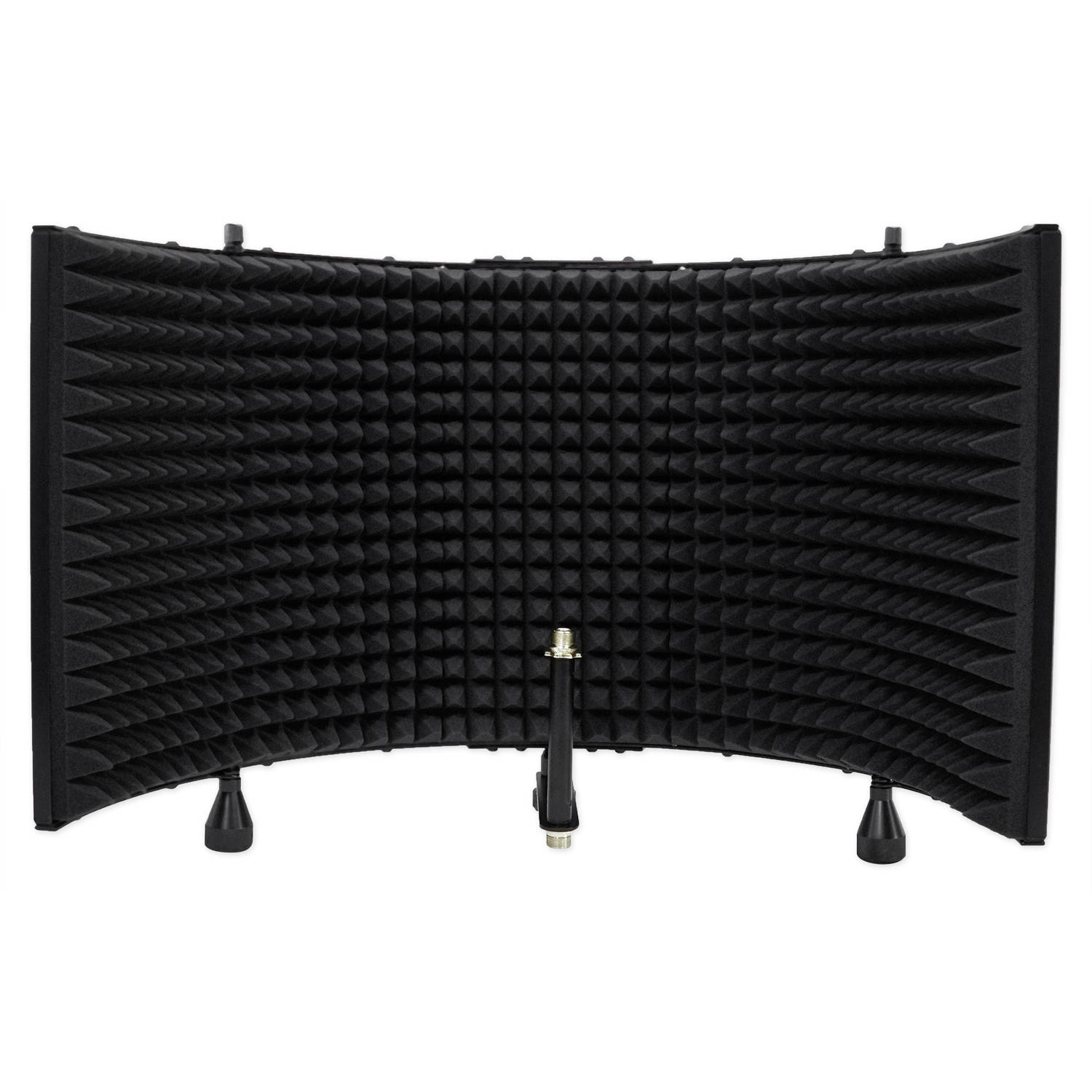 Rockville RMF2 Studio Microphone Isolation Shield with Sound-Dampening Foam