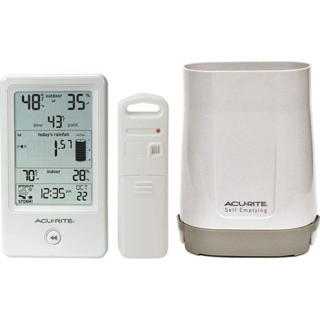 Electronic Rain Gauge - Chaney Instruments 01089M Rain Gauge Wireless Weather Station