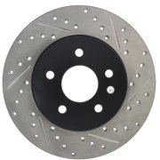 StopTech 127.20017L StopTech Sport Rotors; Drilled And Slotted; Rear Left;11.02 in. Dia.; 1.34 in. Height;