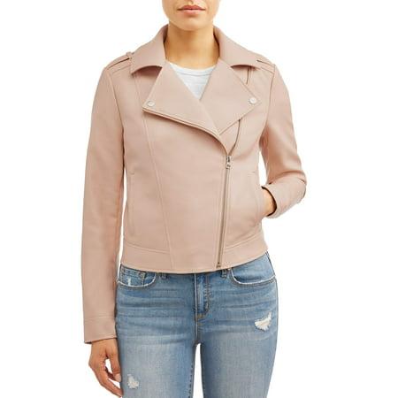 Sofia Jeans Asymmetrical Zip Moto Jacket Women's