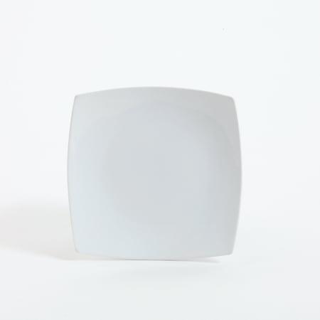 Gibson Elite Ceramic 7.5 In. Dessert Plate, White