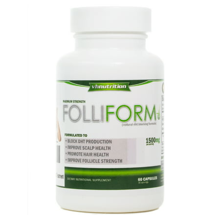 FolliForm DHT Blocker | Hair Regrowth | Hair Support
