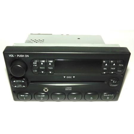 Ford F150 Pickup Truck Radio - AM FM CD Player w Auxiliary Input 3L3T-18C815-CA - Refurbished