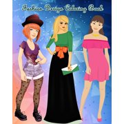 Fashion Design Coloring Book : Lovely Fashion: An Adult Coloring Book with Beautiful Dresses