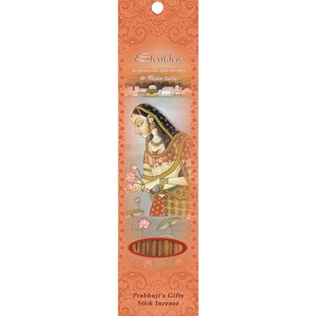 Incense Sticks Shubha - Jasmine, Lavender, and Rose