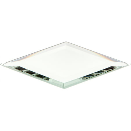 Beveled Glass Mirror, Diamond Shaped 3mm - 2