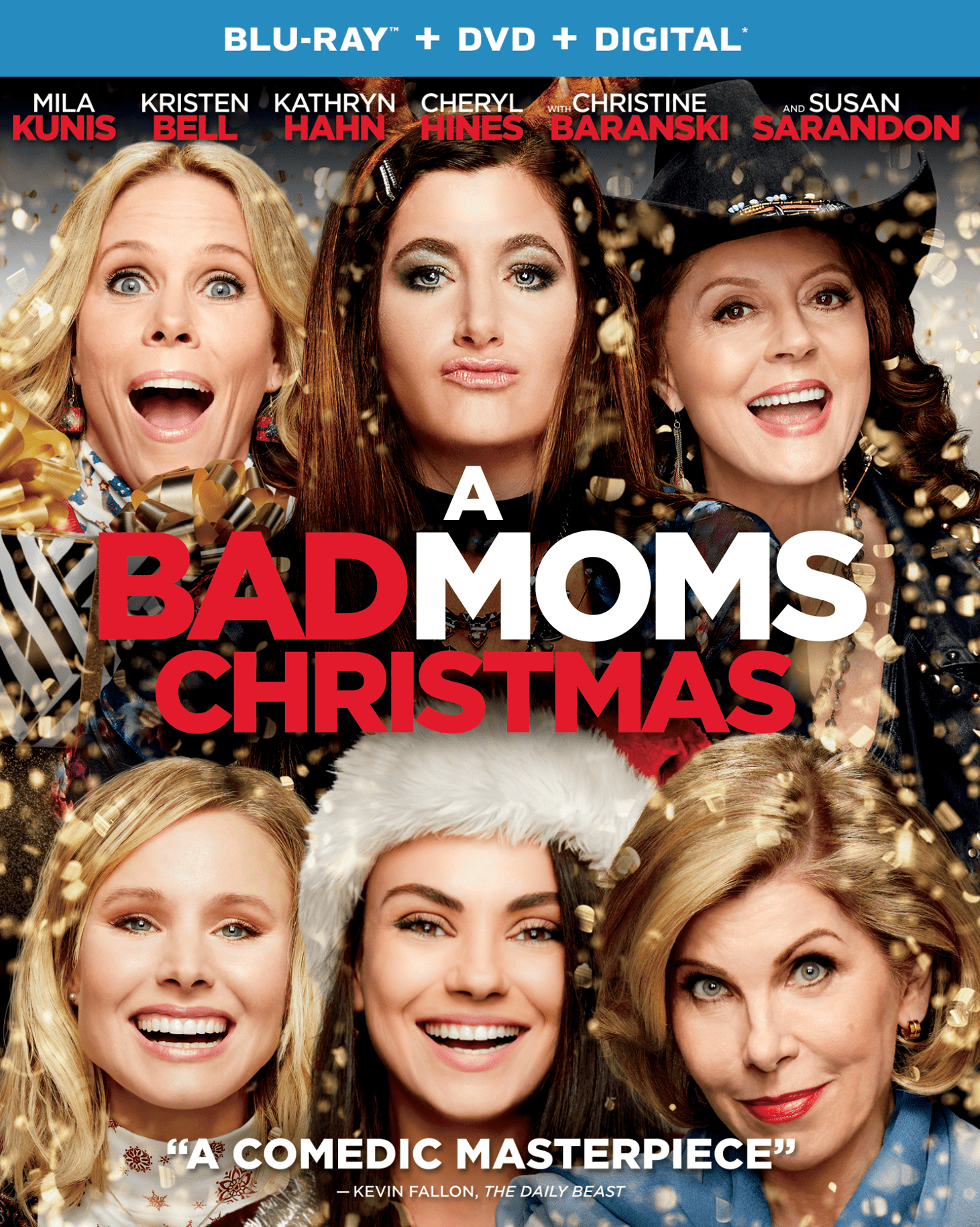 A Bad Moms Christmas (Blu-ray + DVD + Digital) by