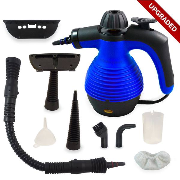 Electric Easy Handheld Steam Cleaner with 9 Different Attachments and Additional Accessories