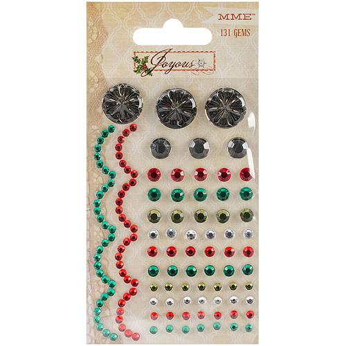 Joyous Self-Adhesive Gems, 131pk
