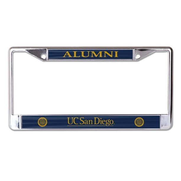 Ucsd Heavyweight Alumni License Plate Frame Damnxgood Com