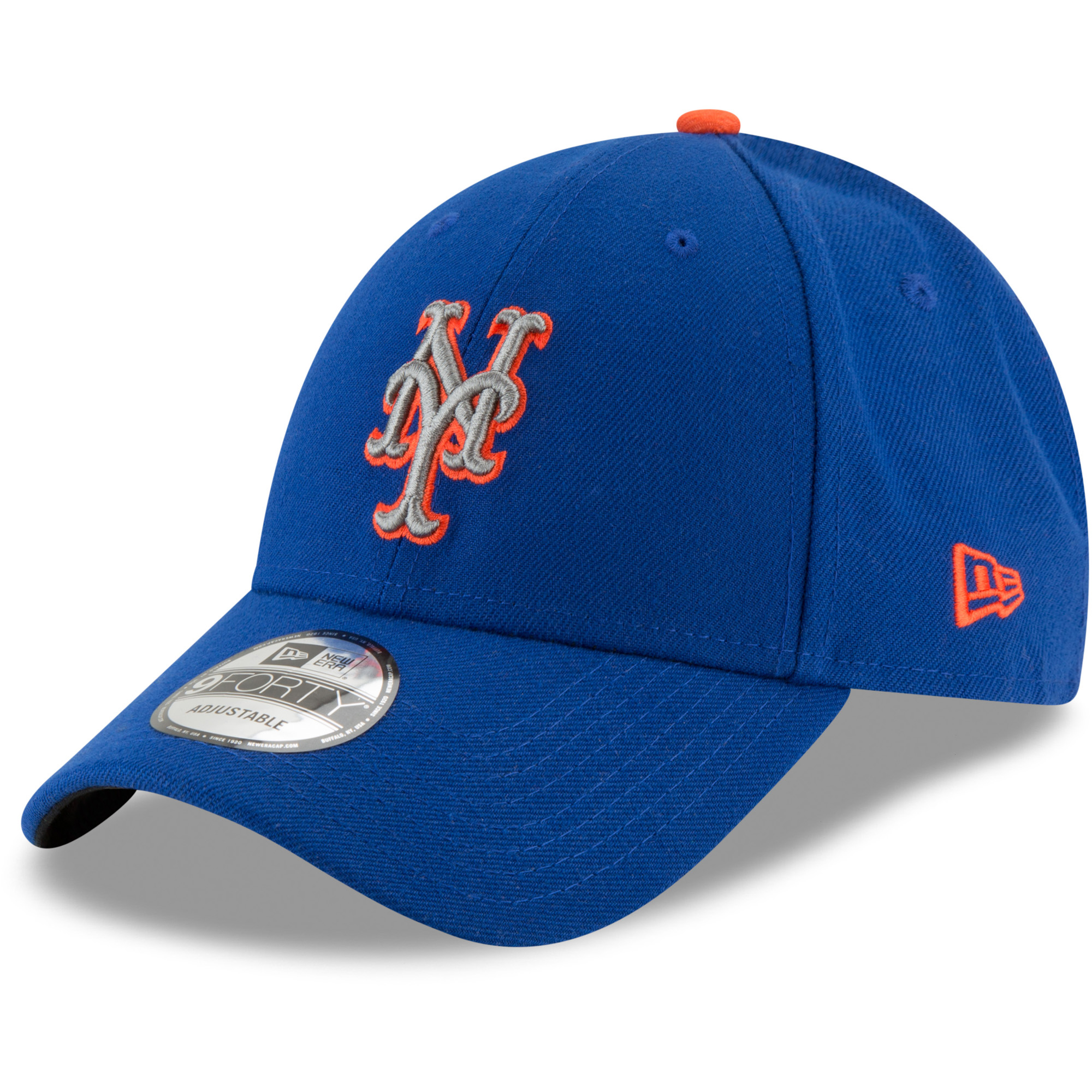 New York Mets New Era Alternate 2 The League 9FORTY Adjustable Hat - Royal - OSFA