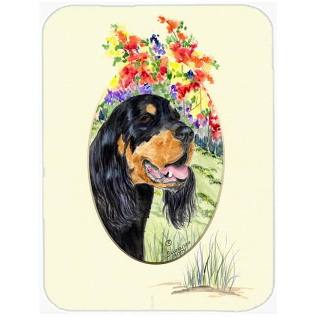 Carolines Treasures SS8056LCB Gordon Setter Glass Cutting Board - Large - image 1 de 1