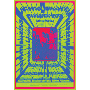 Jefferson Airplane - Concert Promo Poster
