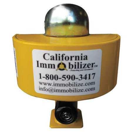 CALIFORNIA IMMOBILIZER G00109 Universal Coupler Lock,Yellow
