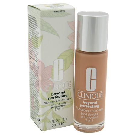 Beyond Perfecting Foundation + Concealer #6 Ivory (VF-N)-Dry Comb. To Comb. Oily by Clinique for Women - 1 oz Foundation +
