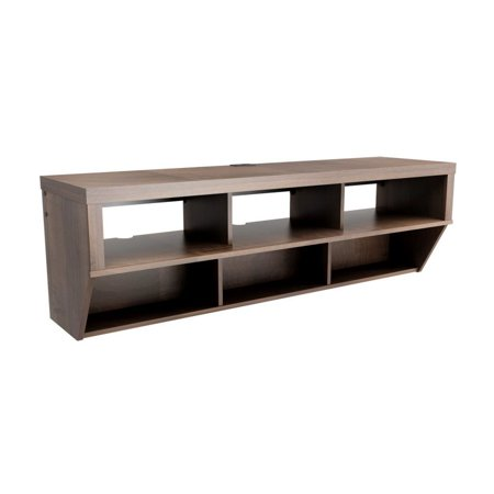 Prepac Furniture Series 9 Designer 58-in Wide Wall Mounted AV Console
