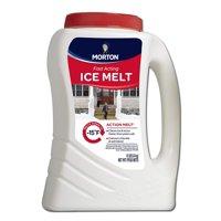 7870 Action Melt Blend Snow & Ice Melt, 12-Pound Jug, 12 Pound Jug By Morton,USA
