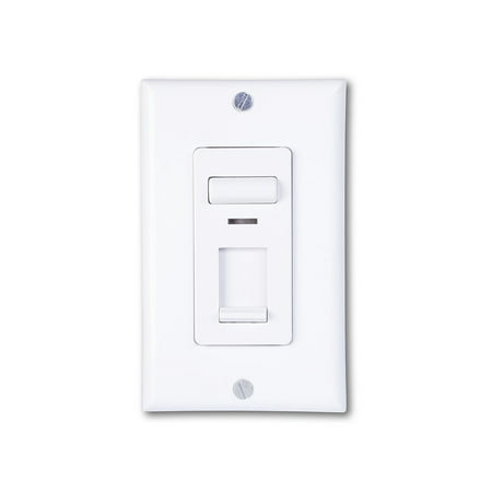 Century 150-watt LED and CFL/600-watt Incandescent Wall Slide Electrical Light Dimmer Switch