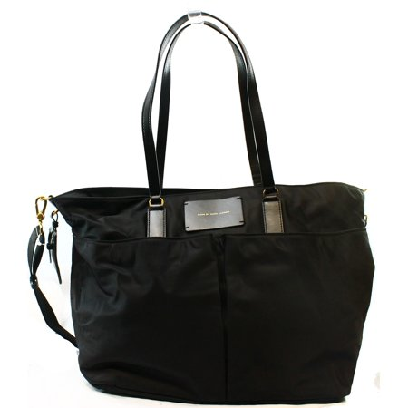 Marc by Marc Jacobs NEW Black Preppy Nylon Legend Elizababy Tote