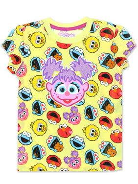 Sesame Street Abby Cadabby Toddler Baby Girls Short Sleeve Tee ASGC701