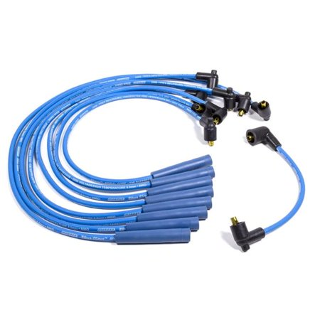 Moroso 72550 Blue Max Spiral Core Ignition Wire Set for 1965-1974 GM Vehicles with 396-454 Big Block Chevy Engines - image 1 of 1