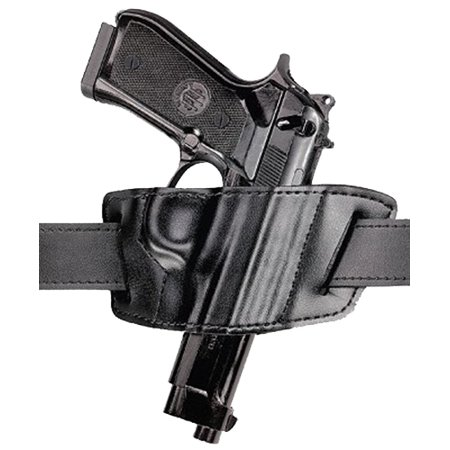SAFARILAND 527 BELT SLIDE GLOCK 17/19/22/23/34/35 SUEDE LINED/SAFARILAMINATE BLACK